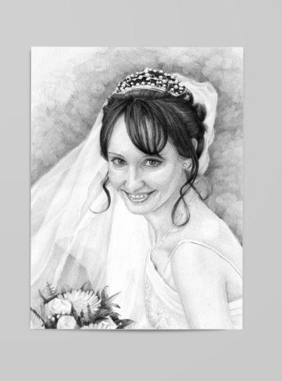 Hochzeits-Portrait